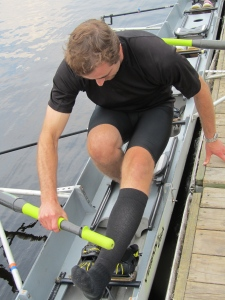Look Familiar?  If you can do a pistol you can get into a rowing shell!