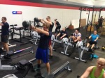 KB Swings and Rowing - Boom!