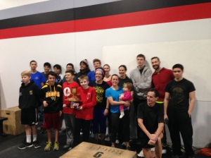 All of the athletes who competed in the Renegade Rowing League in preparation for CRASH-Bs!