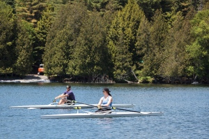 Sculling at Craftsburry