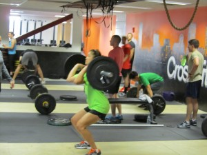 A Renegade Rower killing the Power Clean!