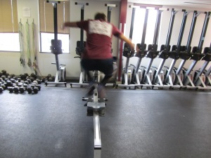 Lateral Erg Burpee Air