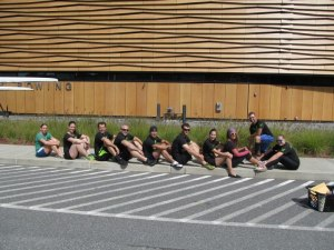 The Renegade Rowing Team in their lineup! Tryouts are next Friday! Sign Up Today!