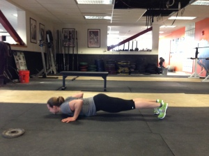 Full depth push up!