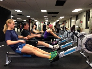 Rowing Feet Out!  Well done staying connected to the footboards through the finish! Renegade Rowing Club Starts Monday @6:30pm @CFB