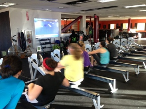 The Ladies getting after it at the Renegade Rowing League last year!
