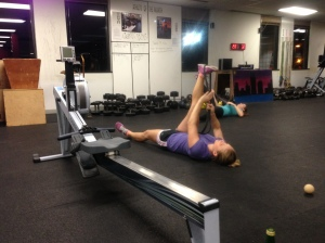 RRC getting after some Hamstring Mobility