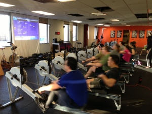 Mike and Mike attacking the 2k at the RRL - Are you ready for the Renegade Rowing League?
