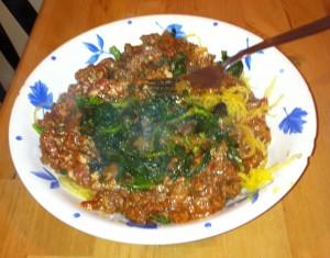 Spaghetti Squash!