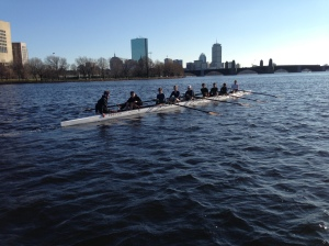 Rowing in Boston!