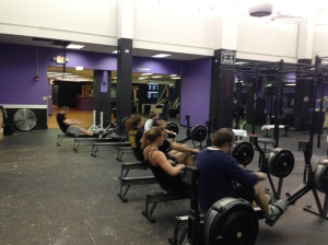 Members at CrossFit Boston attacking Hamilton.  Come checkout CrossFit Boston June 8-9 at the CrossFit Rowing Course with Shane Farmer!