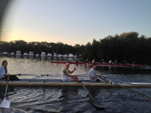 The Renegade Rowing Team is training for the Rumble on the River at CRI in September!