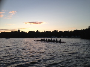 Renegade Rowing Team after a solid practice learning the Triple Pause Drill.
