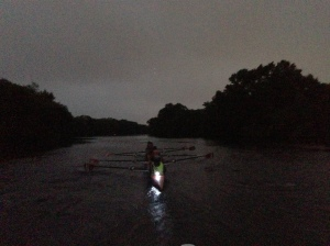 Renegade Rowing Team - Rowing in the Darkness!
