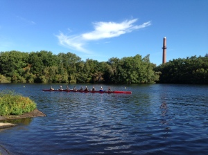The Renegade Rowing Team after their first Race