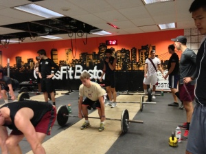Deadlifts w/ BC Men's Crew