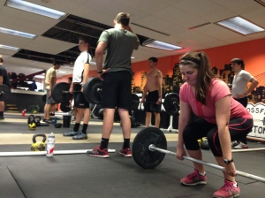 Coxswains getting after the Deadlift last winter!