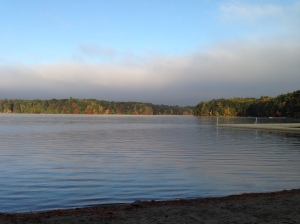 It's been a great fall on the lake in Wayland, MA! Good Luck to all crews competing at the Head of the Fish this weekend!