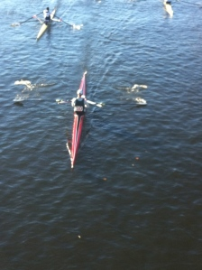 Approaching Western Ave. Bridge at HOCR!