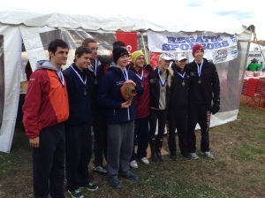 Congrats to the Wayland Weston Men's Crew Team!  The lightweight 8+ won the Head of the Fish on Sunday!