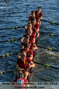 "The BC Men were in here yesterday crushing ""Helen"".  They're fired up for training with Renegade Rowing this winter.  Who's next?"