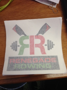 RR Decal for Competitors at Renegade Rowing League!