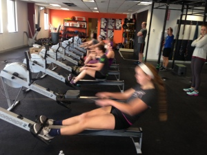 Abby getting after it at the Renegade Rowing League last Saturday!