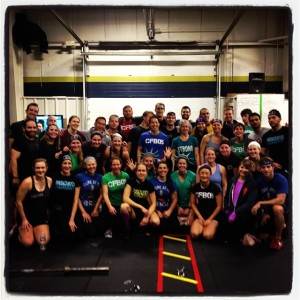 The CrossFit Boston Family at Not Your Average Joe's Team Competition!