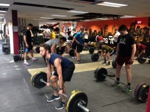 The BC Men's Crew Team will be hitting Deadlifts will you?
