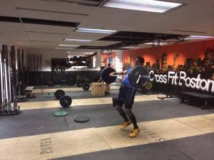 Coach Pat getting after the Snatch!