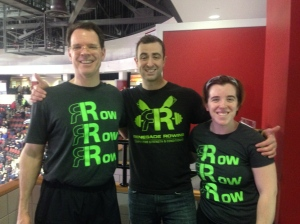 Happy St. Patrick's Day from Thor, Terese, and myself! Renegade Rowing Team Sign Ups!
