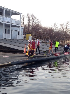 BC Men Launching at Riverside