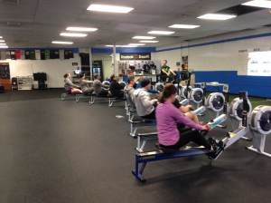 Try the RWOD with 8 other people and see if you can row together! -MSCF Rowing Workshop