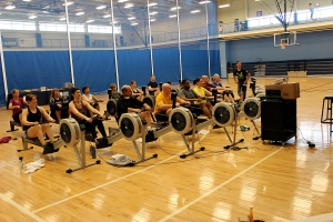 RR Rowing Workshop at Newport Navy Base last week!