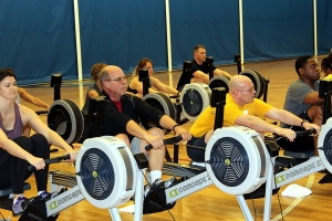 My Dad participating in a Renegade Rowing Workshop at the Newport Navy Base earlier this year!