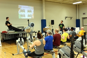 Rowing Workshop with Newport Navy Base on Wednesday!