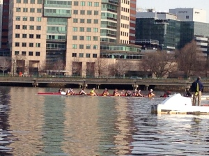 BC Men Lining up for 2k on the Basin