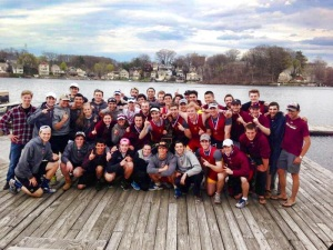 Congrats to the Boston College Men's Rowing Team on taking the Team Points Trophy at the New England Rowing Championships on Saturday!  Keep up the hard work!