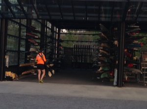Sculling Pavilion at CRI