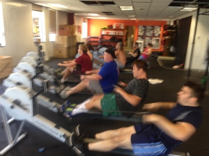 Noon Class getting after it!