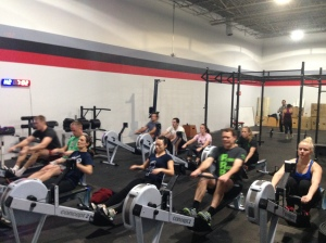 The RRC attacking the 2k Row!