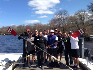 Had some great fun coaching a corporate row for YPO of Alberta, Canada!